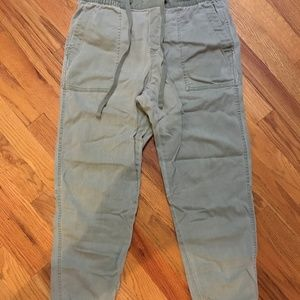 GAP Olive Jogger Pants